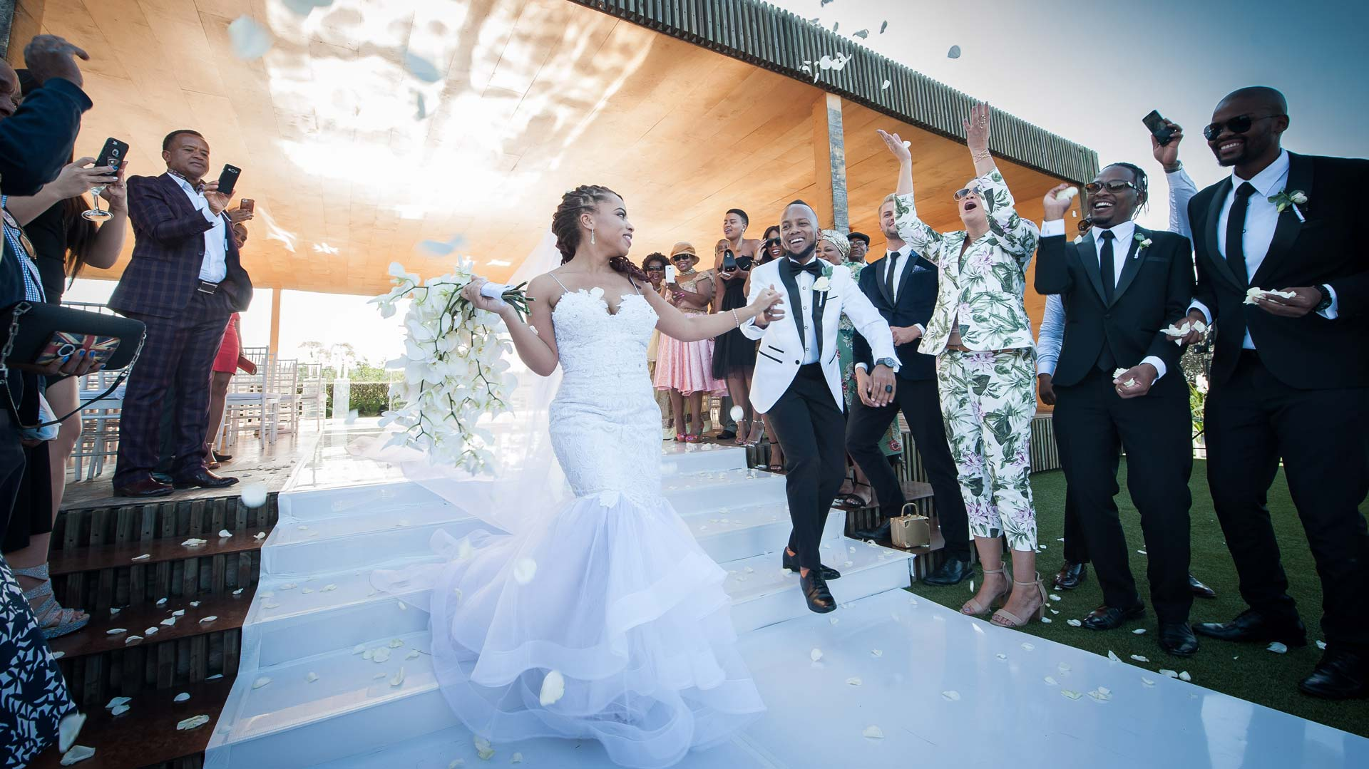 Exclusive Rooftop Garden Wedding Venue